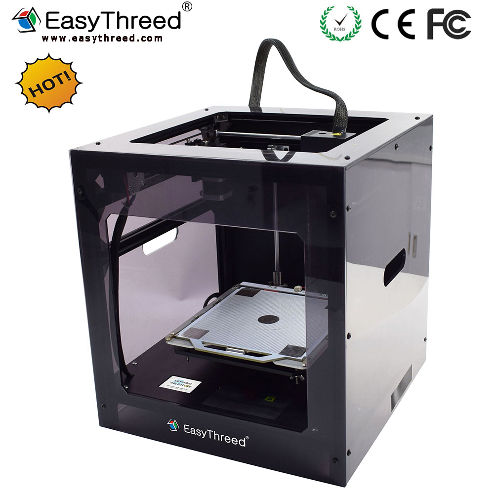 Hot sale wholesale DIY 3d printer China with enclosure cover and one touch screen