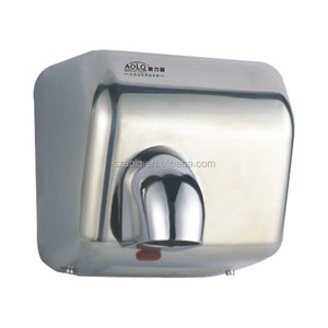 Yes Sensor and CE Certification hand dry 304 stainless steel hand dryer China supplier