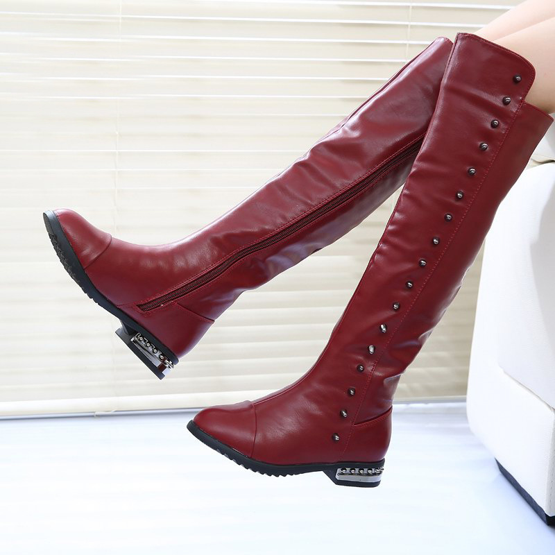 18005a87941b Get Quotations · size 26-33 Shoes wholesale a generation of fat 20145new  winter boots knee boots boots