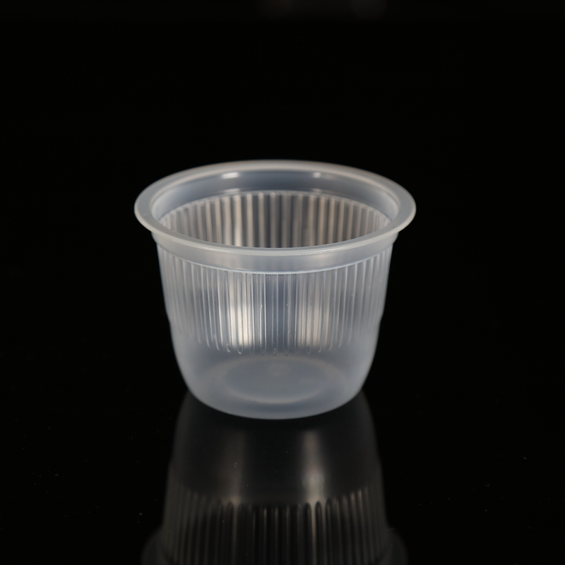 7oz wholesale customized disposable PP plastic jelly cup