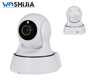Remotely control alarm infrared night vision IP wifi cctv network camera