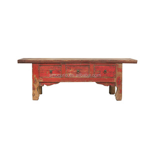 Fantastic Chinese Antique Vintage Painted Coffee Table With Drawers In Beijing Bralicious Painted Fabric Chair Ideas Braliciousco