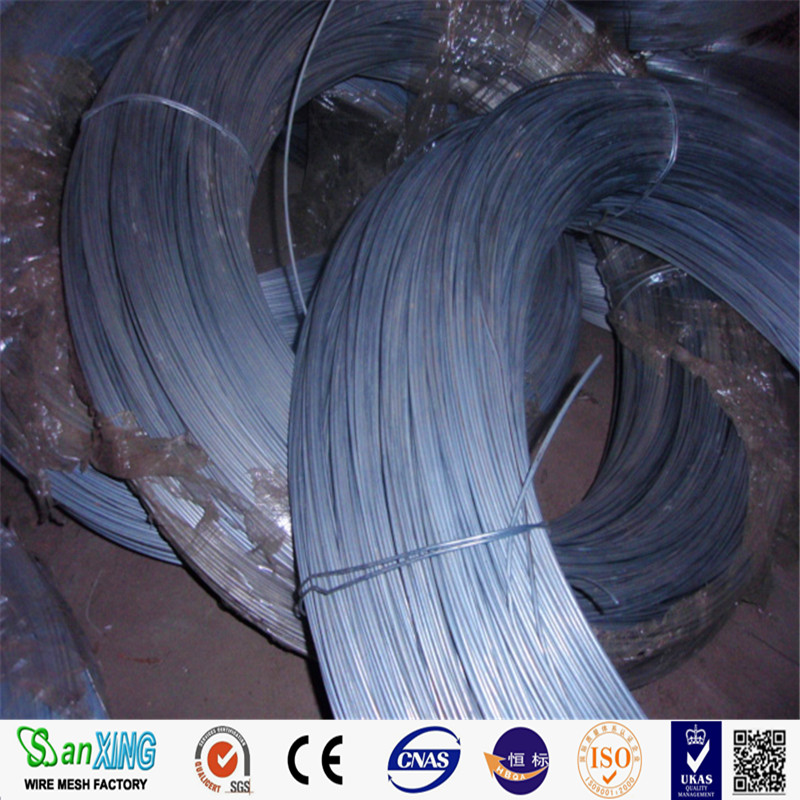 18gauge Soft Galvanized Iron Wire/ Galvanized Double Loop Tie Wire ...