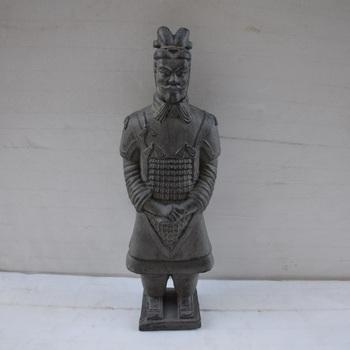 Factory Custom Made Terracotta Warrior Garden Statue Fiberglass Chinese  Terracotta Warriors