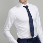 wholesale cotton fabric men's dress business shirt