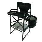 Onwaysports Aluminum Folding Tall Director Barber Makeup Artist Chair
