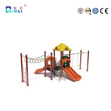 Combine Outdoor Playground Style Indoor Play Set 3 Functions in 1 Basketball Slide with Single Toddler Swing Outdoor Playground