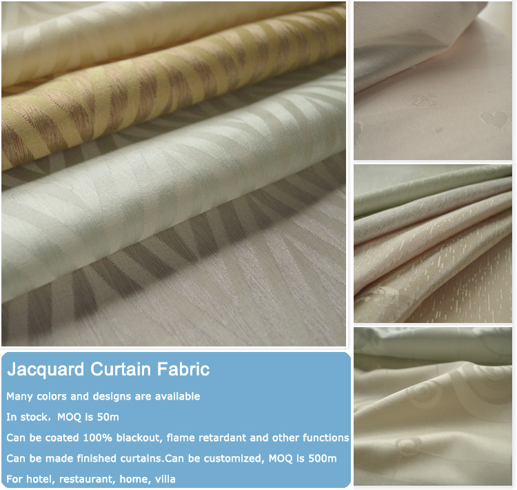 manufacturer of curtains jacquard fabric simple curtain design for elegant living room