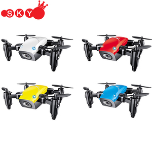 S9 S9W Foldable RC Drone 2.4G Mini Drones Micro Drone RC Helicopter With WIFI FPV 0.3MP Camera 360 Degree Flip Quadcopter
