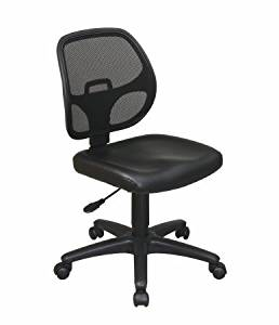 Avenue 6 Office Star EM2910 Mesh Screen Back Task Chair with Fabric Seat
