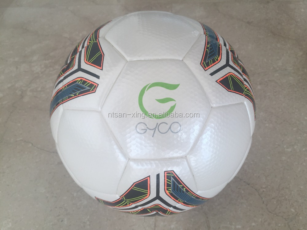 New Technic Thermally Bonded High Quality PU Football Soccer Ball