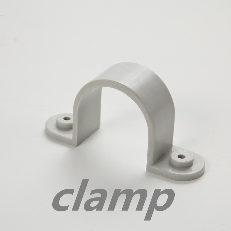 AS 2053 Electrical PVC Conduit Fitting Saddle Clips