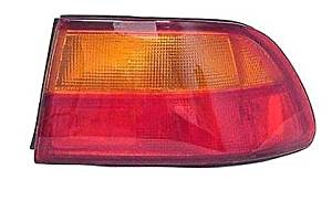 92 - 95 Honda Civic 4 Door Sedan Passenger Taillamp Taillight 93-95 Civic Coupe