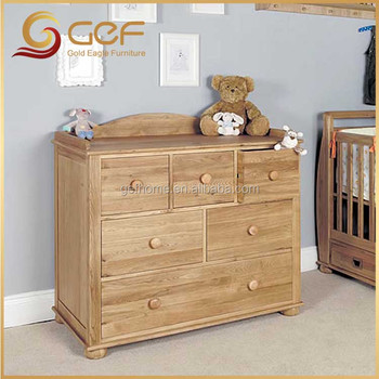 Wooden Baby Changer Nursery Cabinet Children Console GEF BB 124