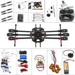 6-Axle Aircraft Kit Full Set Helicopter Drone Tarot 680PRO Frame 700KV Motor GPS APM 2.8 Flight Control AT9 Transmitter Drone