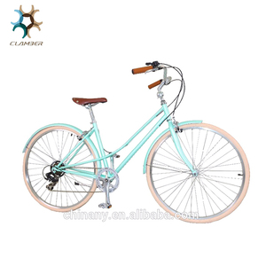 Euro bicycle lady bicycle/7 speed women city bicycle bike/classic city bike GB3062