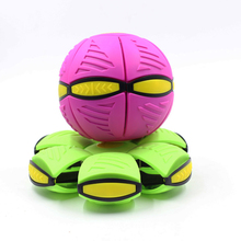 eco-friendly ABS plastic UFO deformation ball for kids//