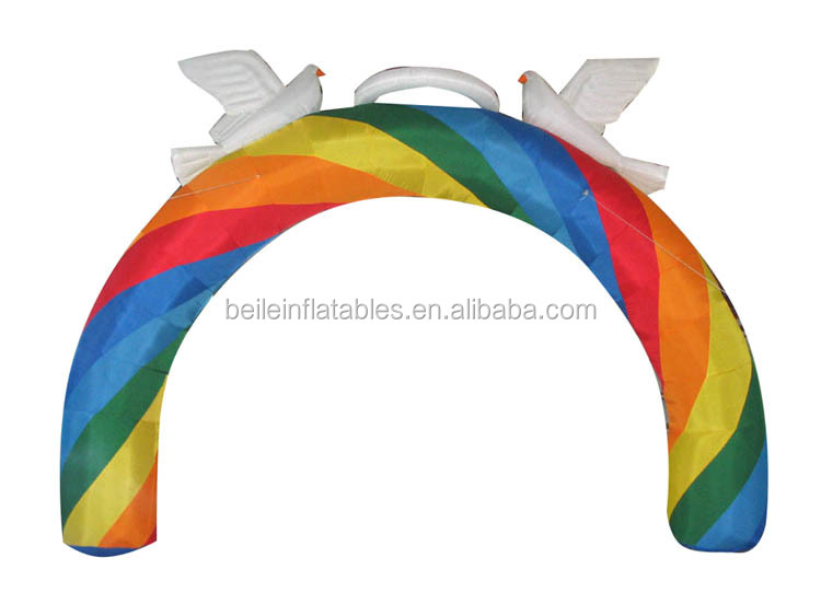 Factory price wholesales 210D Nylon oxford fabric inflatable halloween arch