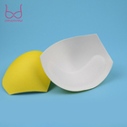 Wholesale Sponge Bra Pads Swimming Foam Bra Pads Underwear Insert Yellow