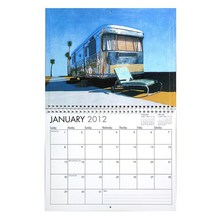 Papel de <span class=keywords><strong>Arte</strong></span> de alta calidad calendario de pared 2015