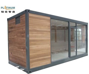 small steel frame prefabricated solid wood container house new zealand
