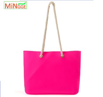 2017 Hot New Style Silicone Beach Bag Promotional Shopping Bag ...