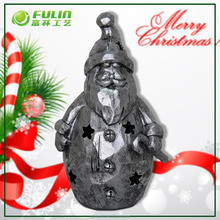 Led Santa Polyresin Lights Christmas