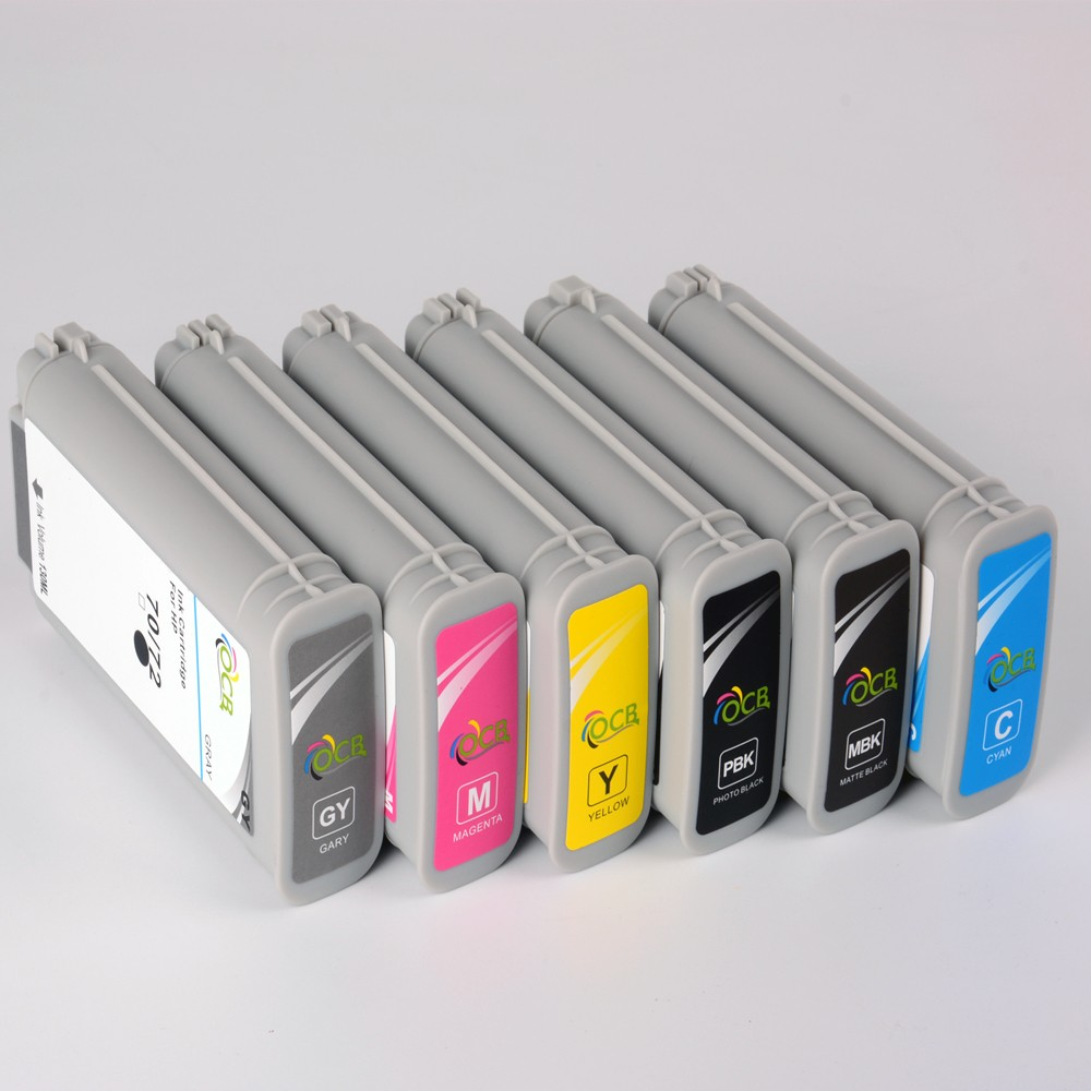 Wholesale For HP T770 T790 T1200 T2300 Printer Ink Cartridge 72 ...