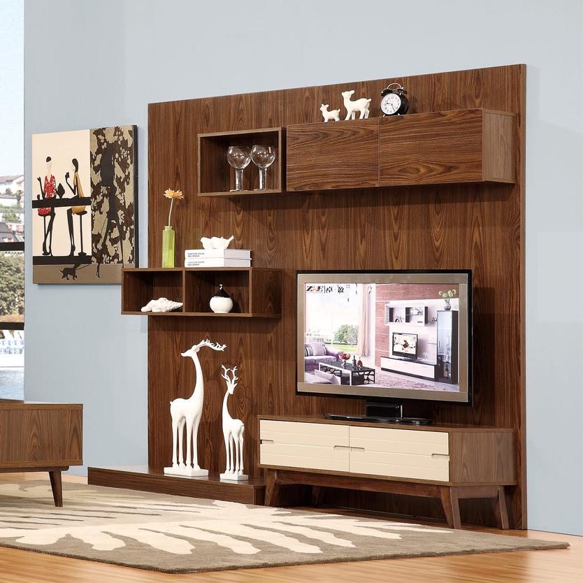 Modern Furniture Design Wooden Tv Wall
