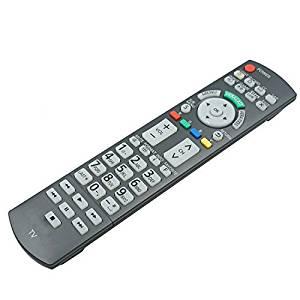 New OEM Replacement Panasonic Plasma TV Remote Control N2QAYB000486 for TC-P50VT20 TC-P58VT25 TC-P42G25