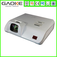 Excellent Quality Short Throw Projector HDMI home theater video 3D projector 3000 lumens support 1080p 3D, 6000hours life