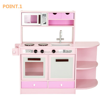 Mini Wooden Kids Smart Kitchen Toys For Girls Buy Smart Kitchen For Kids Kitchen Toys For Girls Mini Kitchen Toy Product On Alibaba Com