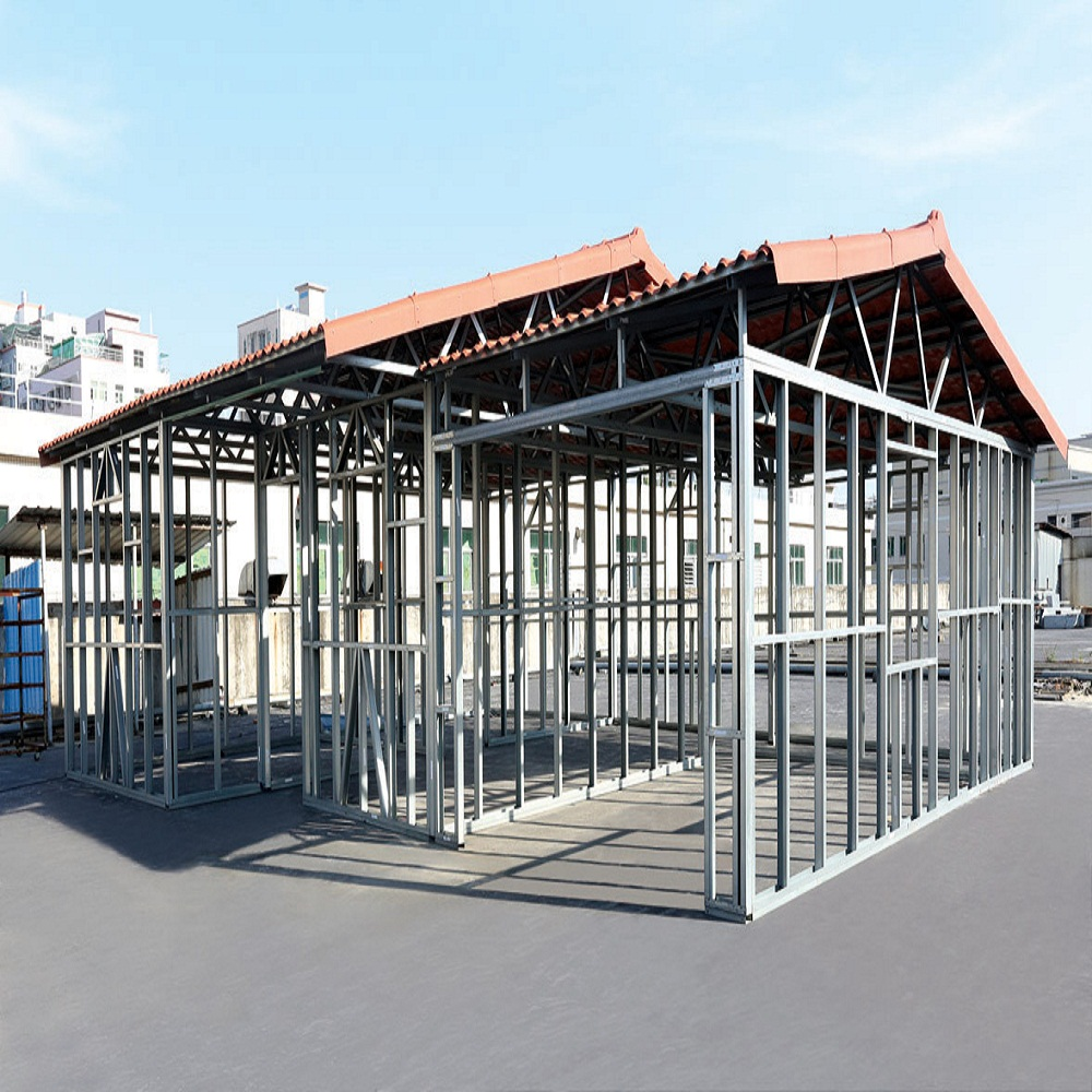Steel Roof Truss Design Metal Stud Steel Framing View