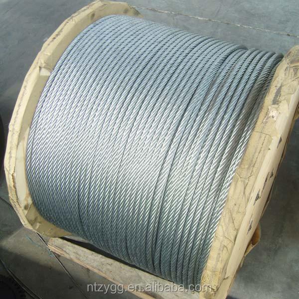 6x7 6x19 6x12 6x24 6x37 Galvanized Steel Wire Rope 8mm - Buy ...