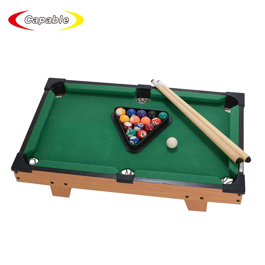 wholesale china billiard mini indoor game snooker pool table for selling