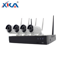 H.265 4CH HD 1080P Wifi NVR CCTV Kit Security Camera System Wireless