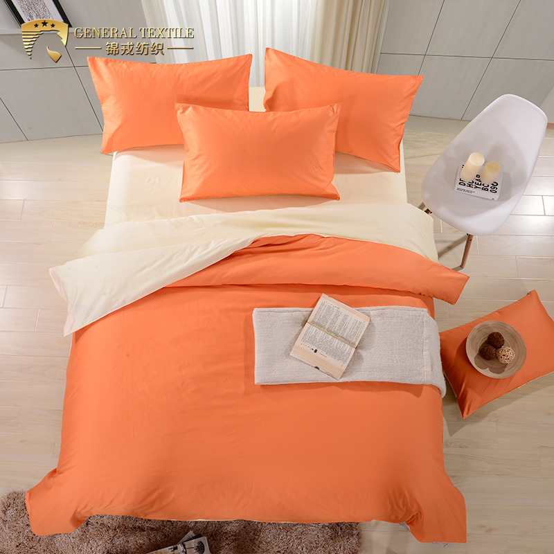 5 Stars Hotel AB Solid Color Luxury Hotel Blanket Bedding Set