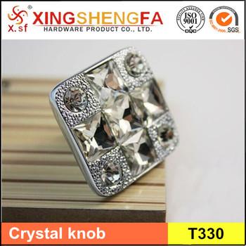 Lade Voor Kast.Transparante Diamant Vorm Kristalglas Kast Knop Kast Lade Handvat