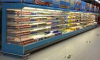Supermarket upright manufacturer beverage beer bottle display showcase chiller refrigerator