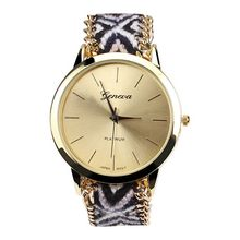 High Quality Knit Wool Bracelet Watches Fabric Band Lady's Dress Watch Hot Sell