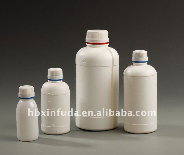 A69 100ml round fluorinated bottle chemical sample packaging/Pesticide bottle/solvent resistance bottle