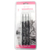 3 Grades/Set Hard/Medium/Soft Woodless Charcoal Pencil Set Professional Sketch Pencil Drawing Tools Stationery For Art Supplies