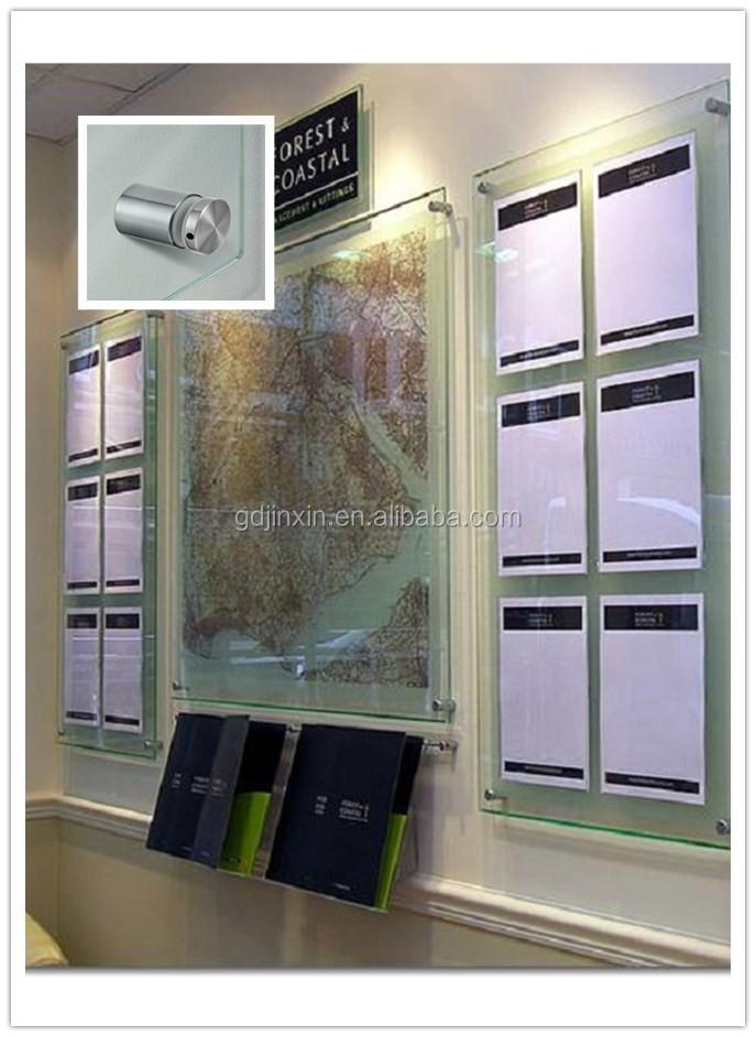 Stainless Steel Glass Standoff Pinsign Holder Standoffacrylic Sign