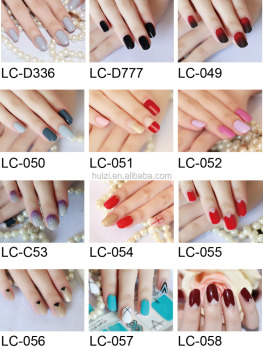 Newest design Lolinco style distinctive Nail polish Stickers