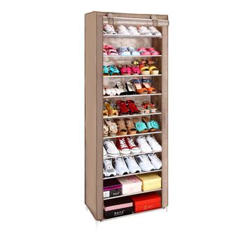 Homemade Commercial Shoe Rack Door Shoe Cabinet 36 Pairs
