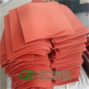 Silicone Rubber Foam Padding Sheets with Width 1.2 m