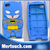 Vedio Game Silicone Devil Carton for iPhone 4 4S 5 For Samsung S3 S4 Superm Chara Covers Ironmen Thor Soft 3D Batman Case