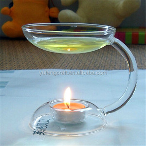 glass clear incense oil warmer incense burner aroma diffuser