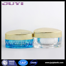 30g Luxury Triangle cosmetic acrylic cream Jar plastic cosmetic container