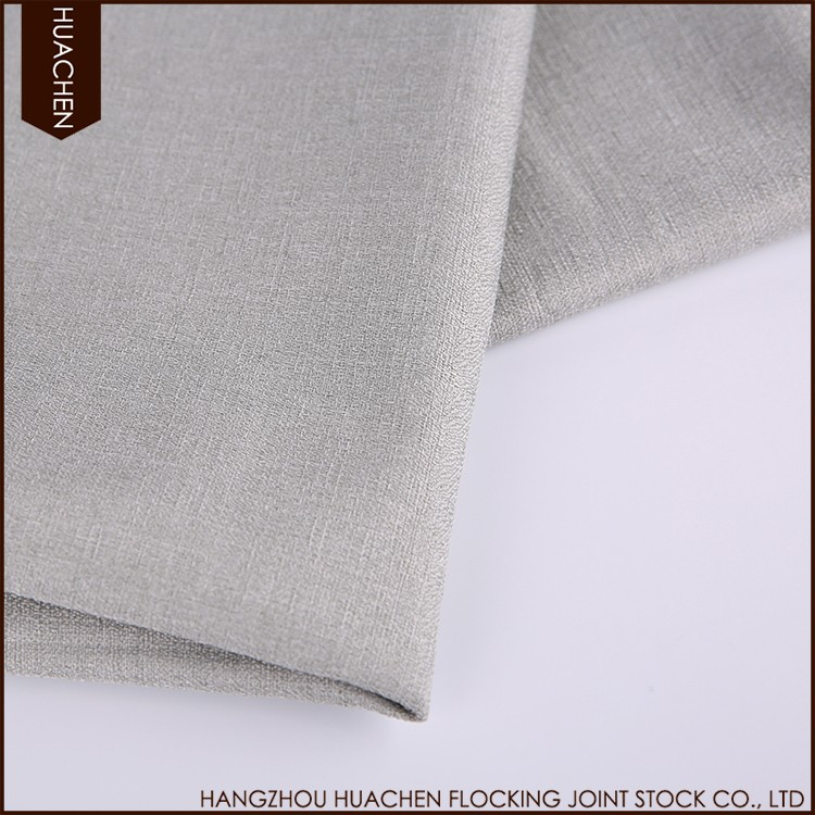 plain and classical style indian curtain fabric